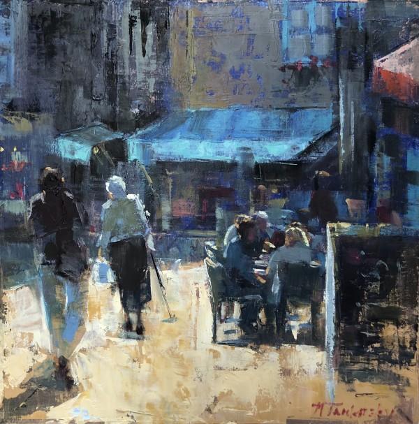 Afternoon in a Breton Village by Nancy Tankersley