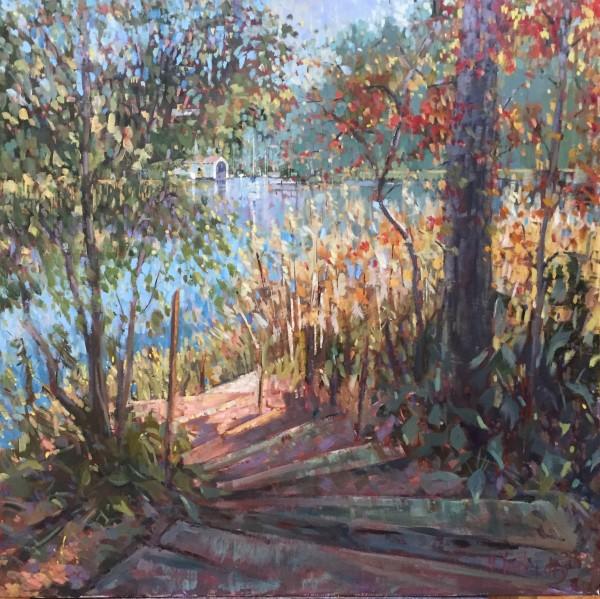 Creek View by Nancy Tankersley