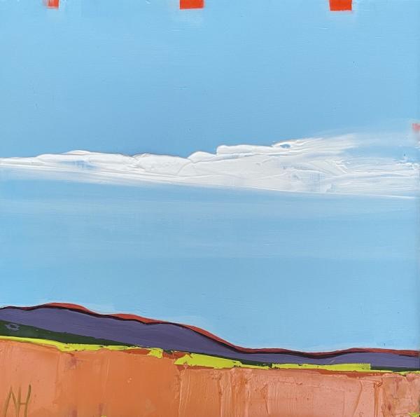 October Orange by Nancy B. Hartley