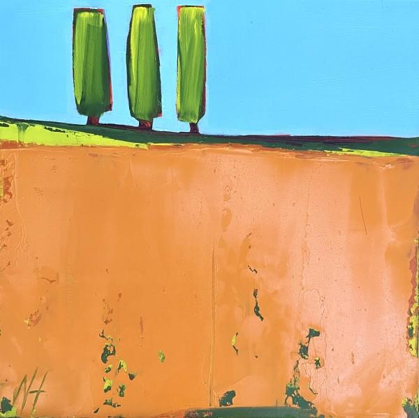 Orange Glow by Nancy B. Hartley