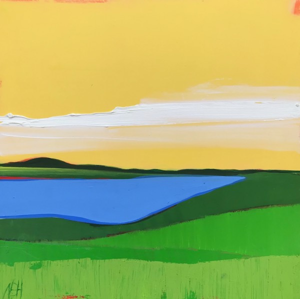 At The Lake by Nancy B. Hartley