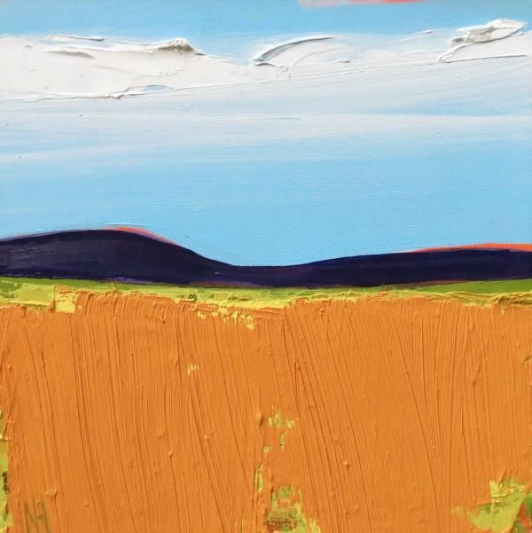 Autumn Fields by Nancy B. Hartley