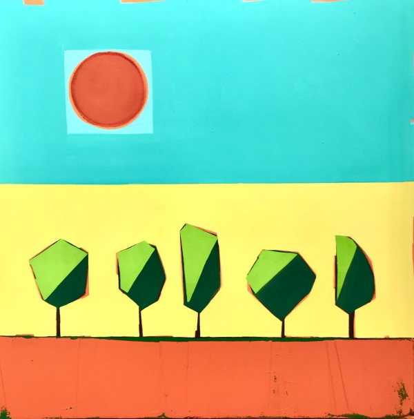 The Sun Shines 3 by Nancy B. Hartley
