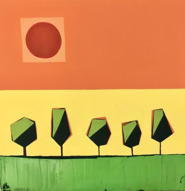 The Sun Shines 2 by Nancy B. Hartley