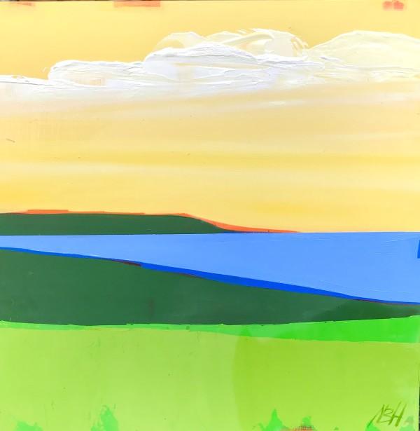 Bay View, 12 X 12 by Nancy B. Hartley