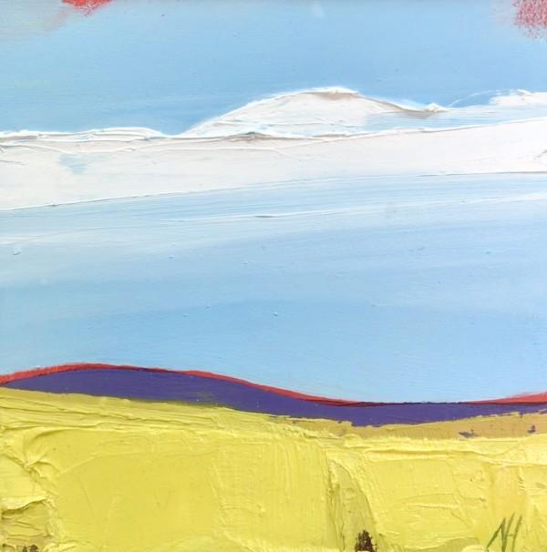 Mustard Field by Nancy B. Hartley