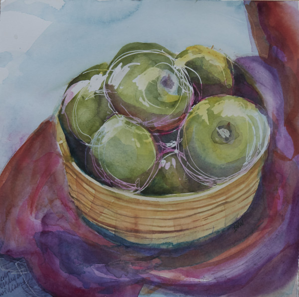 green apples 976 by beth vendryes williams