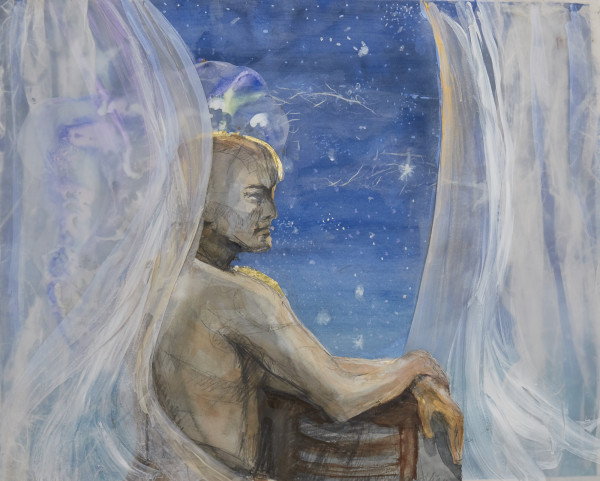 reflection before sleep  /compline by beth vendryes williams