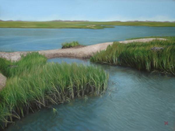 Blue Inlet by Natalie George