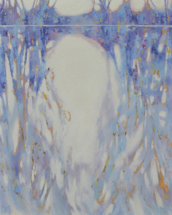 Blue Tangle II by Natalie George