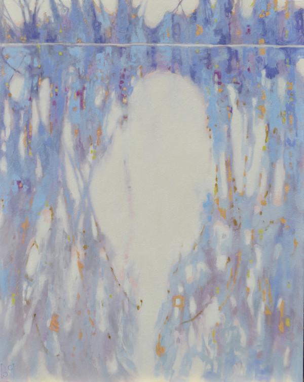 Blue Tangle I by Natalie George
