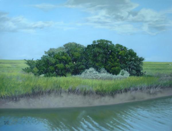 Inlet Trees by Natalie George