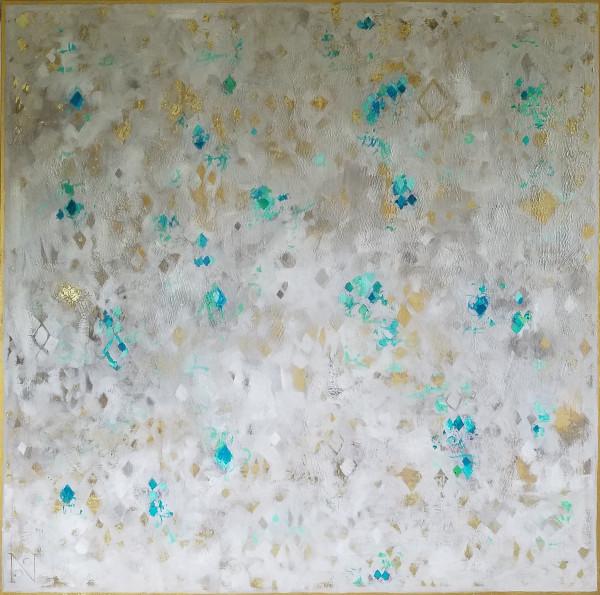 Sanguine Diamonds Aqua Jade by Natalie George