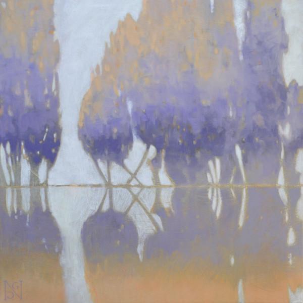 Violet Lake Cedars by Natalie George