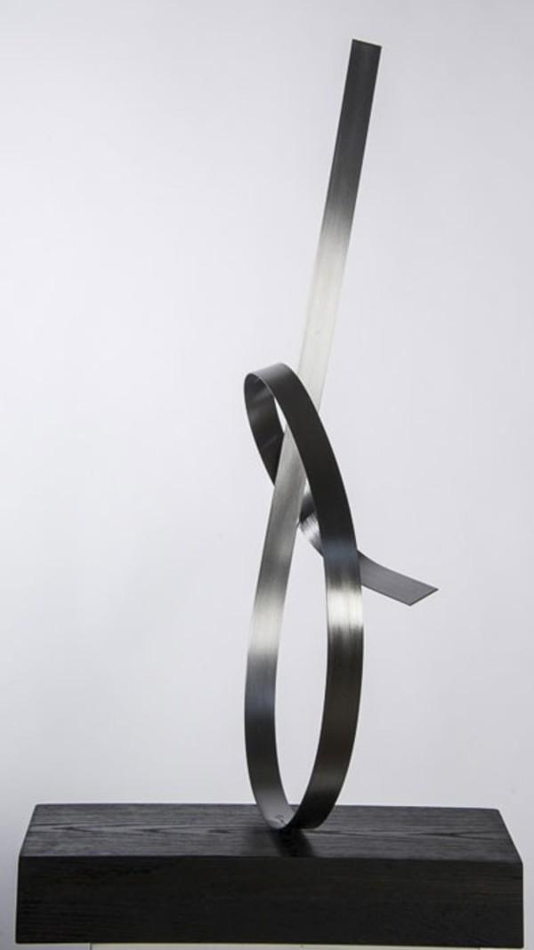 Steel Silver 1 by Joe Gitterman