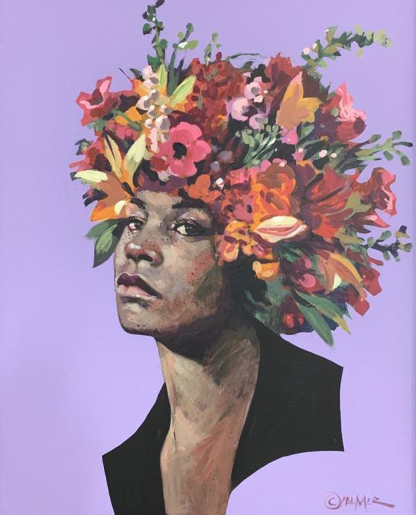 Angela Bloom by Charly Palmer