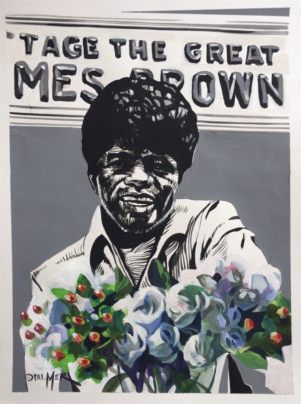 James Brown by Charly Palmer