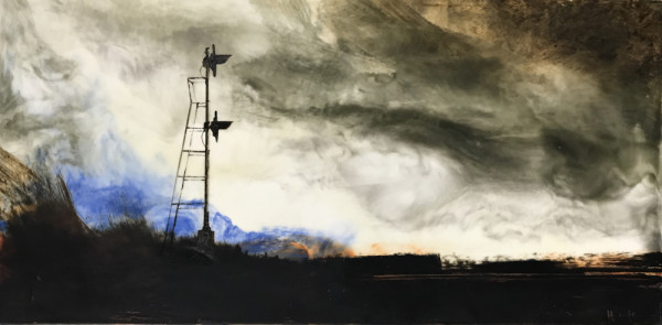 STARING AT THAT PRAIRIE SKY III by Charlie Hunter