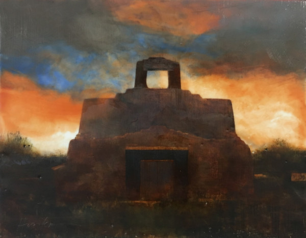 SAN JOSE MISSION, HERNANDEZ, NM by Charlie Hunter