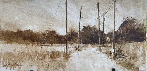 ISLAND ROAD, ESSEX by Charlie Hunter