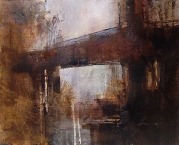 JANUARY BRIDGE (Horizontal Study III) by Charlie Hunter