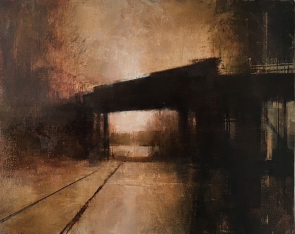 JANUARY BRIDGE (Horizontal Study II) by Charlie Hunter