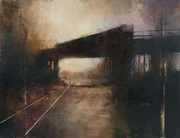 JANUARY BRIDGE (Horizontal Study I) by Charlie Hunter