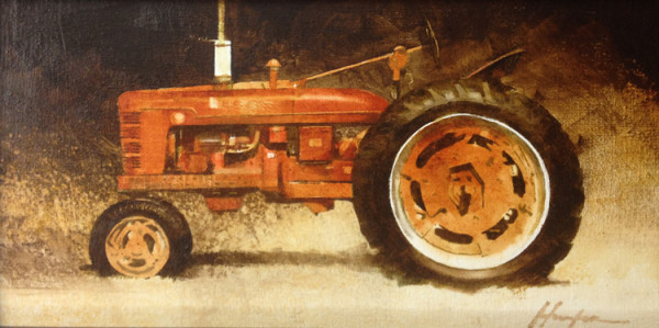 Farmall Red (Study) by Charlie Hunter