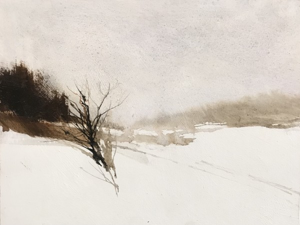 SNOW SQUALL, THIRD MOWING by Charlie Hunter
