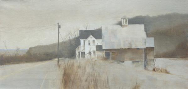 LATE AUTUMN FARM by Charlie Hunter