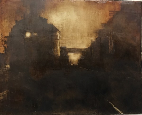 STEAM ENCAUSTIC (after Lamb) by Charlie Hunter