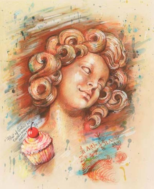 Une Bouchee D'Amour by Audrey Flack