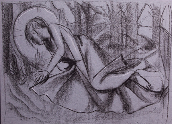 Agony in the Garden by Constance Mary Rowe also known as Sister Mary of the  Compassion, O.P.