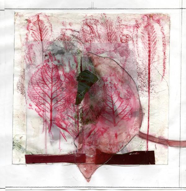 Broken Leaf by Nancy Azara