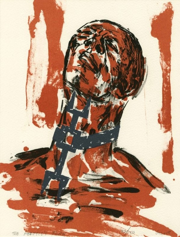 The Heretic's Fork by Leon Golub