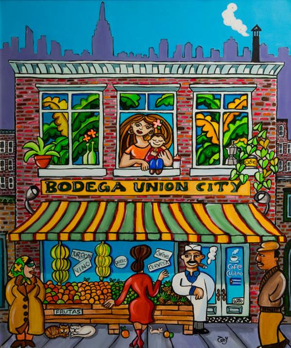 Bodega Union City by Tony Mendoza