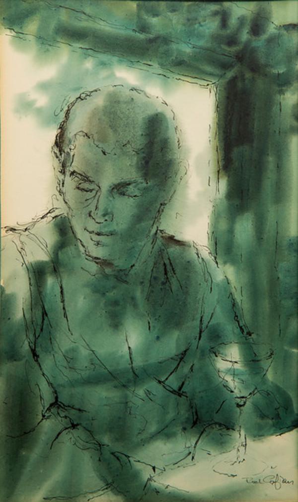 Untitled (Portrait) by Rodney H.  Cofran