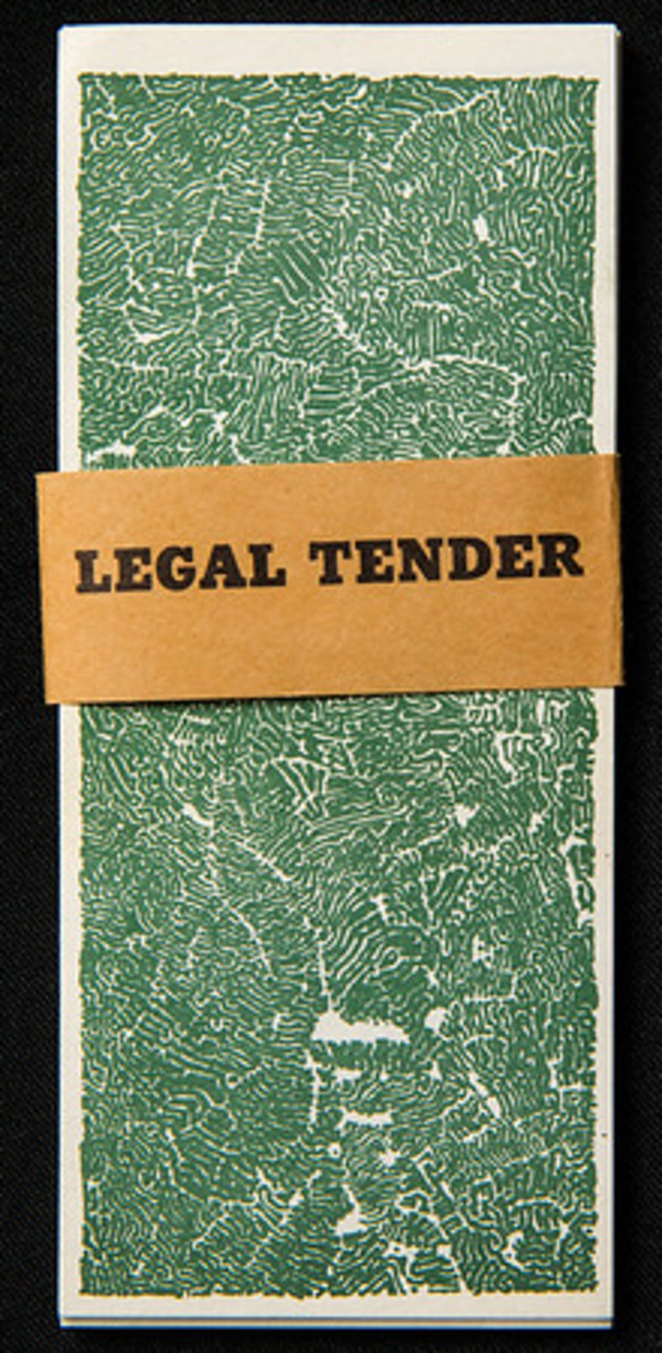 Legal Tender by Bruce Conner