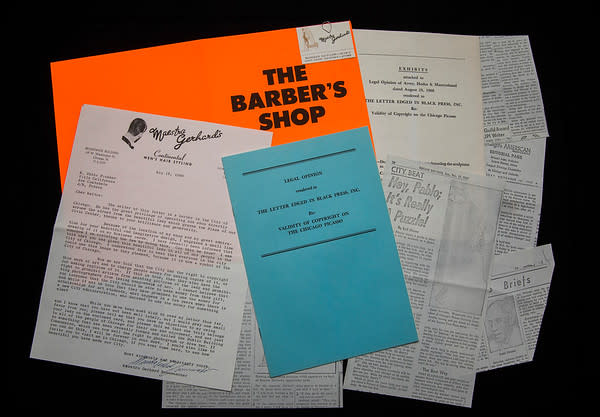 The Barber's Shop by William Nelson  Copley