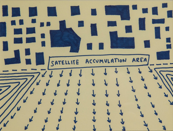 Satellite Accumulation Area by Dahlia Elsayed