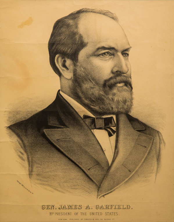Untitled (Gen. James A. Garfield) by Currier & Ives