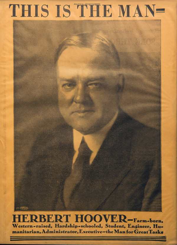 Untitled (This is the Man--Herbert Hoover) by Artist Unknown