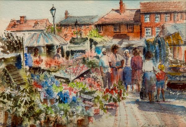 Untitled (British Farmer's Market Scene) by Lambert
