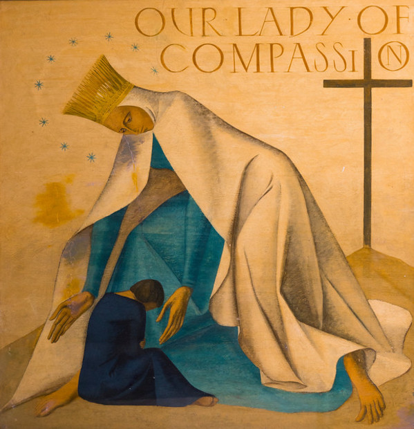 Our Lady of Compassion by Constance Mary Rowe also known as Sister Mary of the  Compassion, O.P.