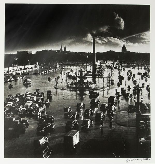 Place de la Concorde by Gordon Parks