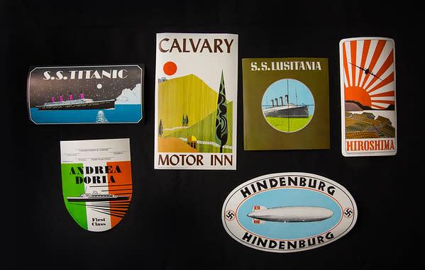 Luggage Labels by Nancy Reitkopf