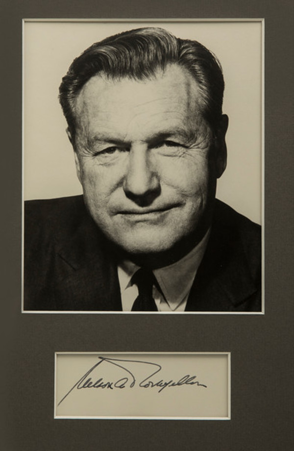 Untitled (Nelson Rockefeller) by Artist Unknown