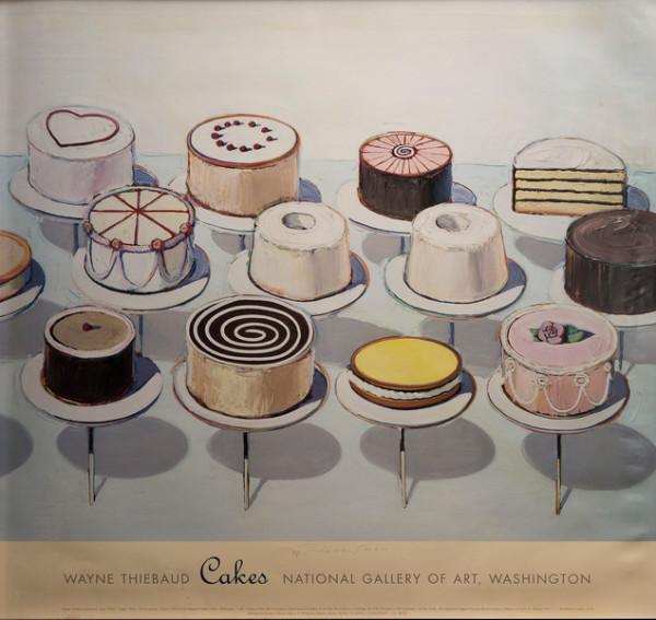 Cakes by Wayne Thiebaud
