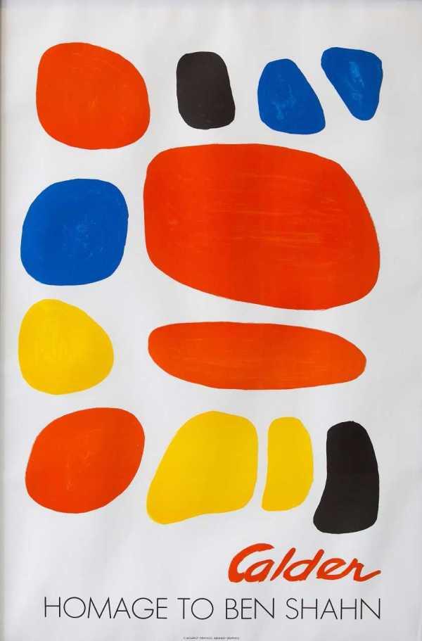 Homage to Ben Shahn by Alexander Calder