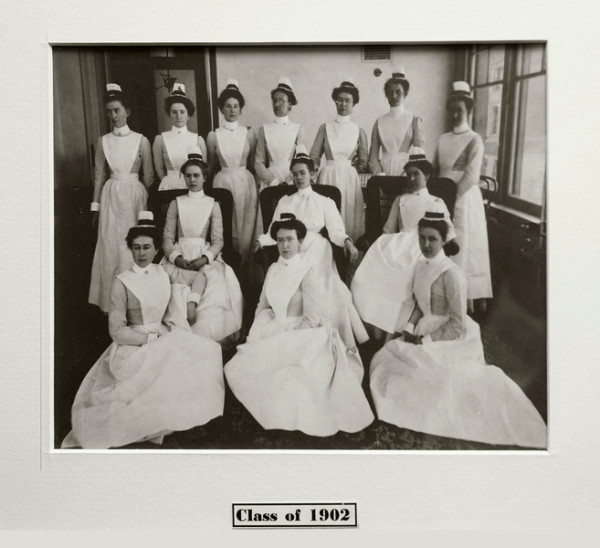 Untitled (Class of 1902 Nursing Picture)